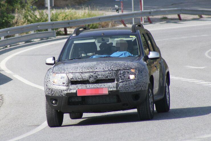 Erlkönig Dacia Duster