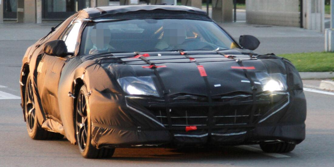 Erlkönig Ferrari 599 GTB