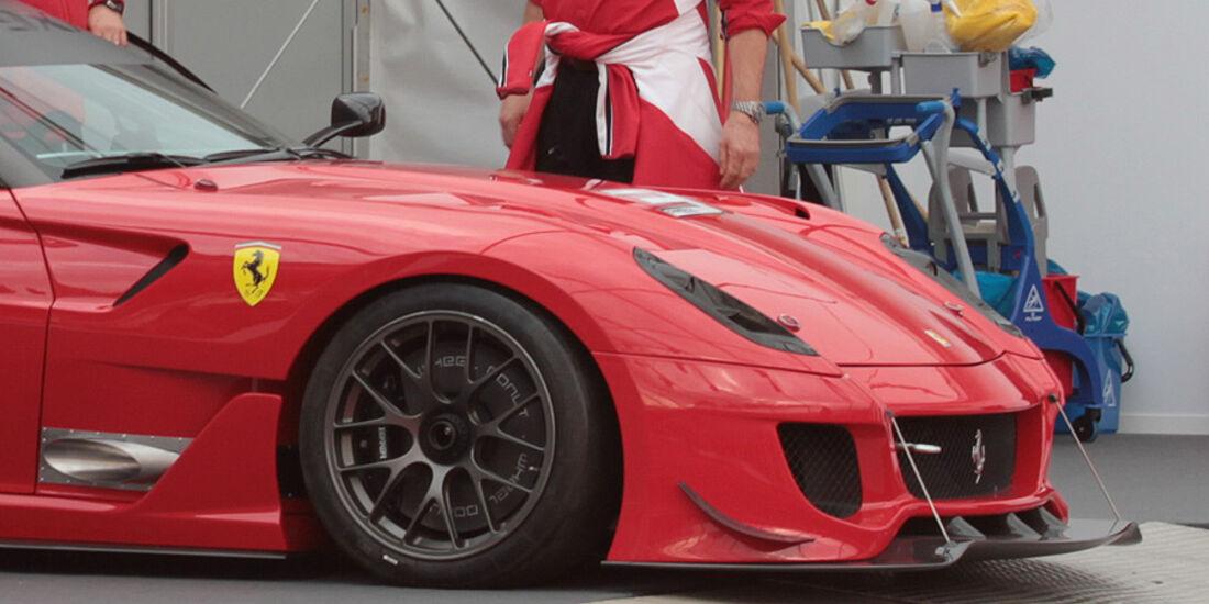 Erlkönig Ferrari 599xx Evo