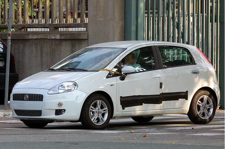 Erlkönig Fiat Grande Punto Facelift