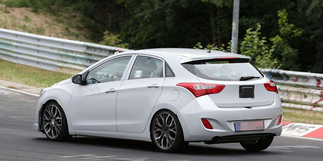 Erlkönig Hyundai i30 N
