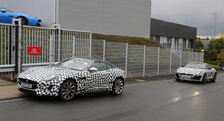 Erlkönig Jaguar F-Type Coupé