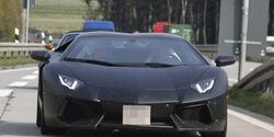 Erlkönig Lamborghini Aventador Roadster