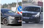 Erlkönig Mercedes A-Klasse AMG BMW M135i