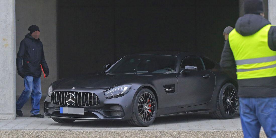 Erlkönig Mercedes-AMG GT C