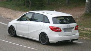 Erlkönig Mercedes B-Klasse Facelift