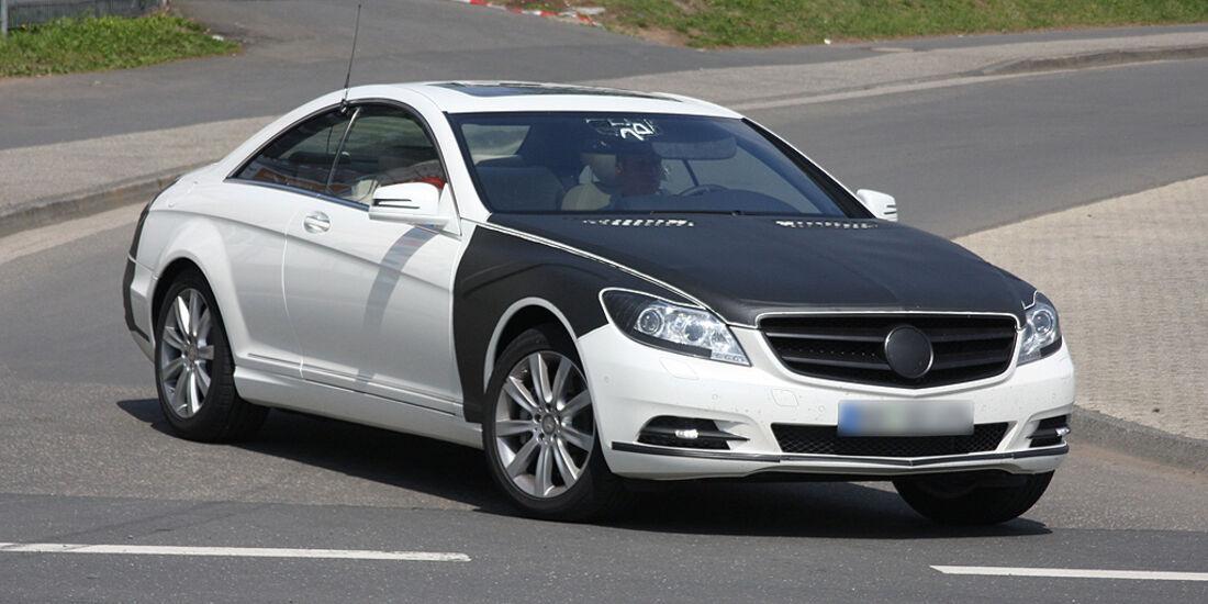 Erlkönig Mercedes CL