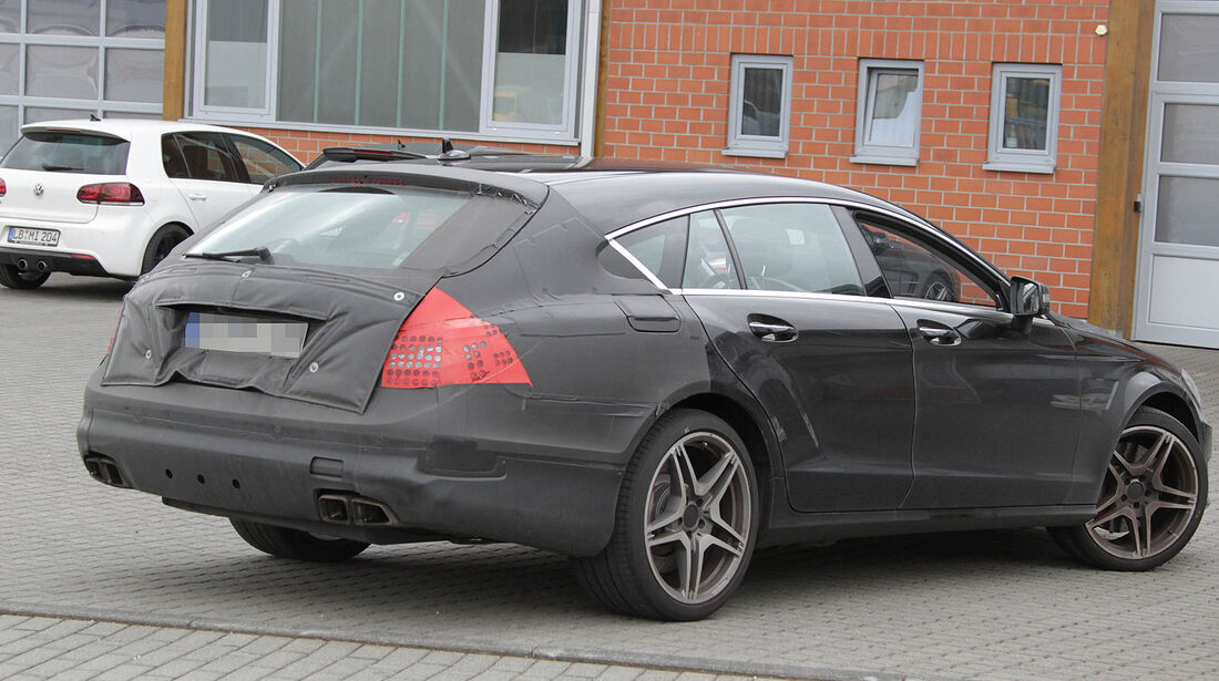 Erlkönig Mercedes CLS Shooting Brake 63 AMG