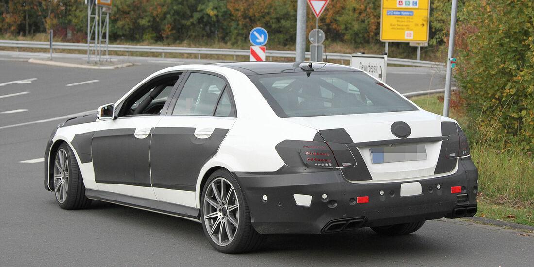 Erlkönig Mercedes E63 AMG E-Klasse
