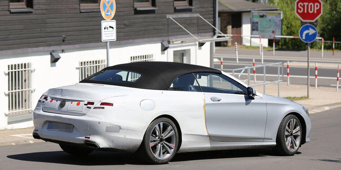 Erlkönig Mercedes S-Klasse Cabrio