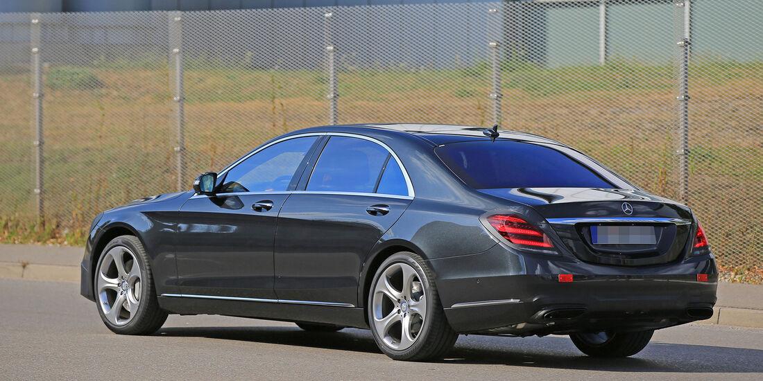 Erlkönig Mercedes S-Klasse