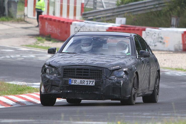 Erlkonige Mercedes S Klasse Gegen Bmw 7er Der Oberklasse Showdown