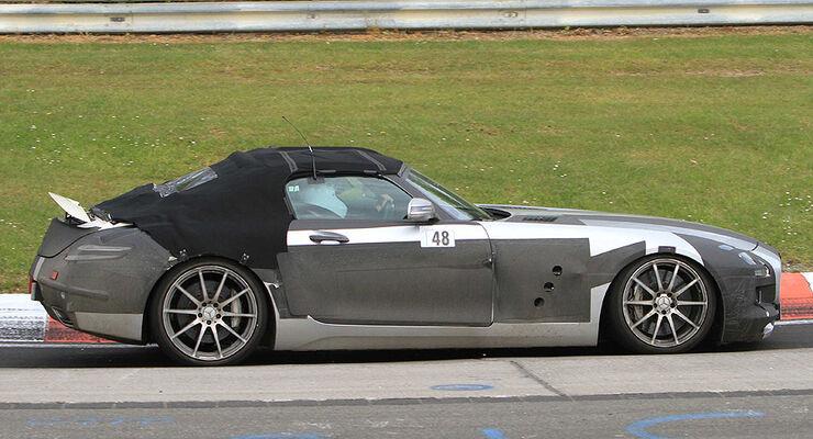 Erlkönig Mercedes SLS AMG Roadster