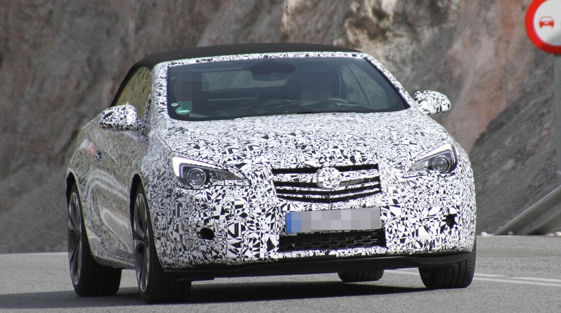 Erlkönig Opel Astra Cabrio