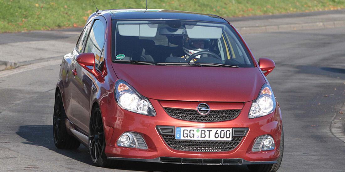 Erlkönig Opel Corsa OPC