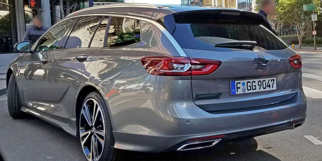 Erlkönig Opel Insignia Grand Sport