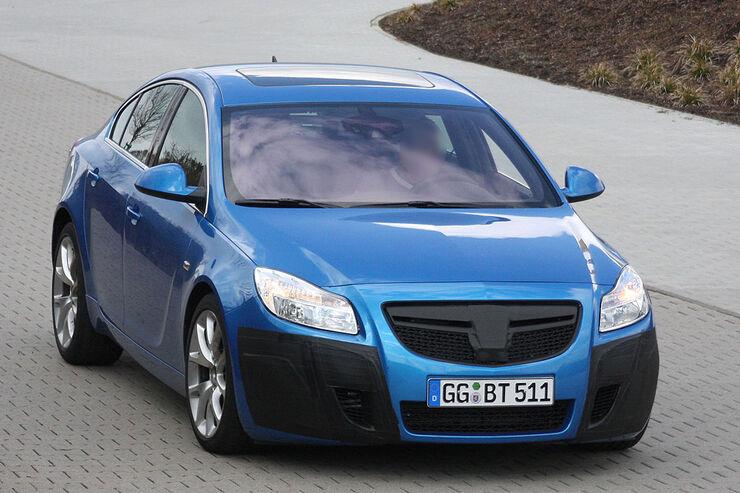 Erlkönig Opel Insignia OPC