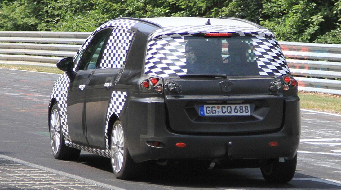Erlkönig Opel Zafira