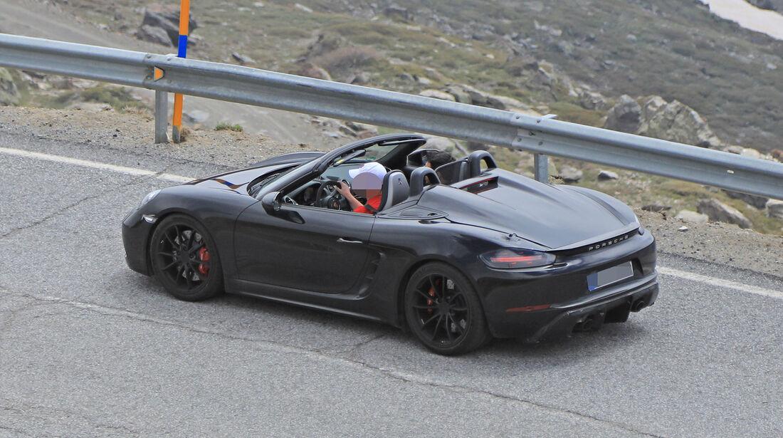 Erlkönig Porsche 718 Boxster Spyder