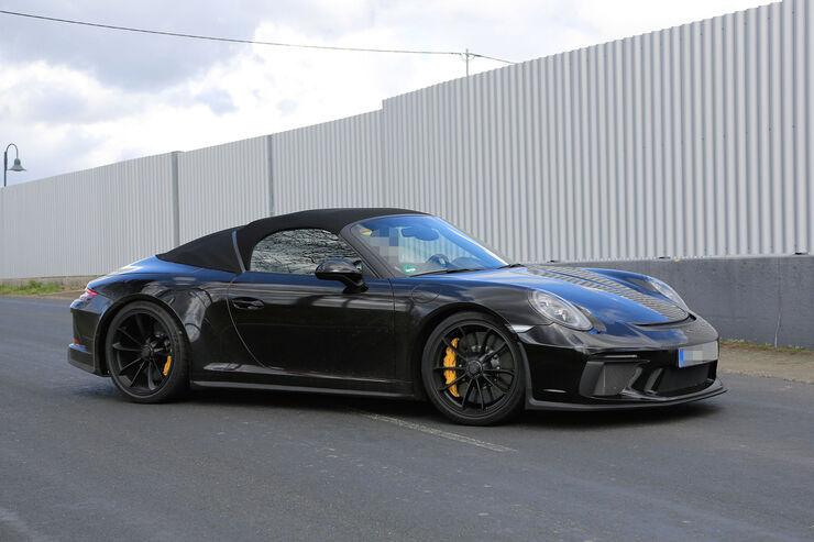 neuer porsche 911 speedster 991 limitiertes cabrio f r. Black Bedroom Furniture Sets. Home Design Ideas
