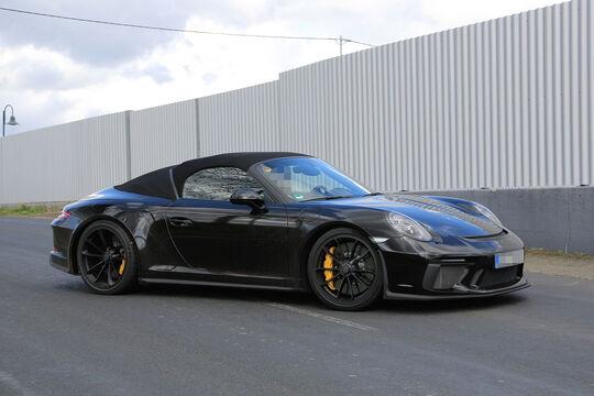 Erlkönig Porsche 911 Speedster