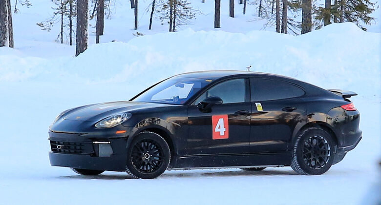 Erlkönig Porsche Mission E