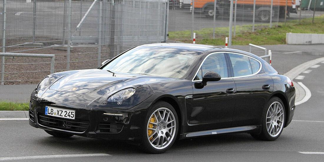 Erlkönig Porsche Panamera Facelift