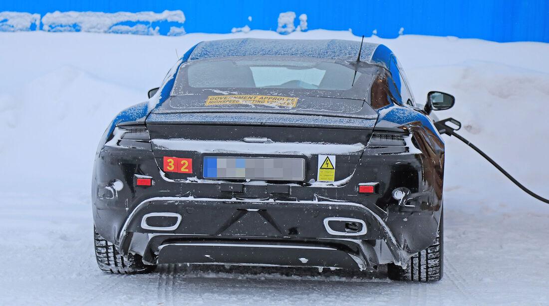 Erlkönig Porsche Taycan