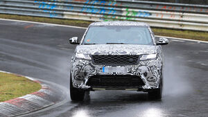 Erlkönig Range Rover Velar SVR