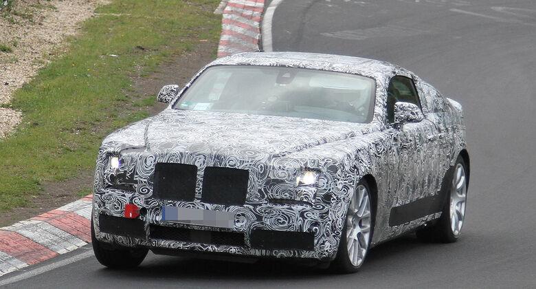 Erlkönig Rolls Royce Ghost Corniche Coupé