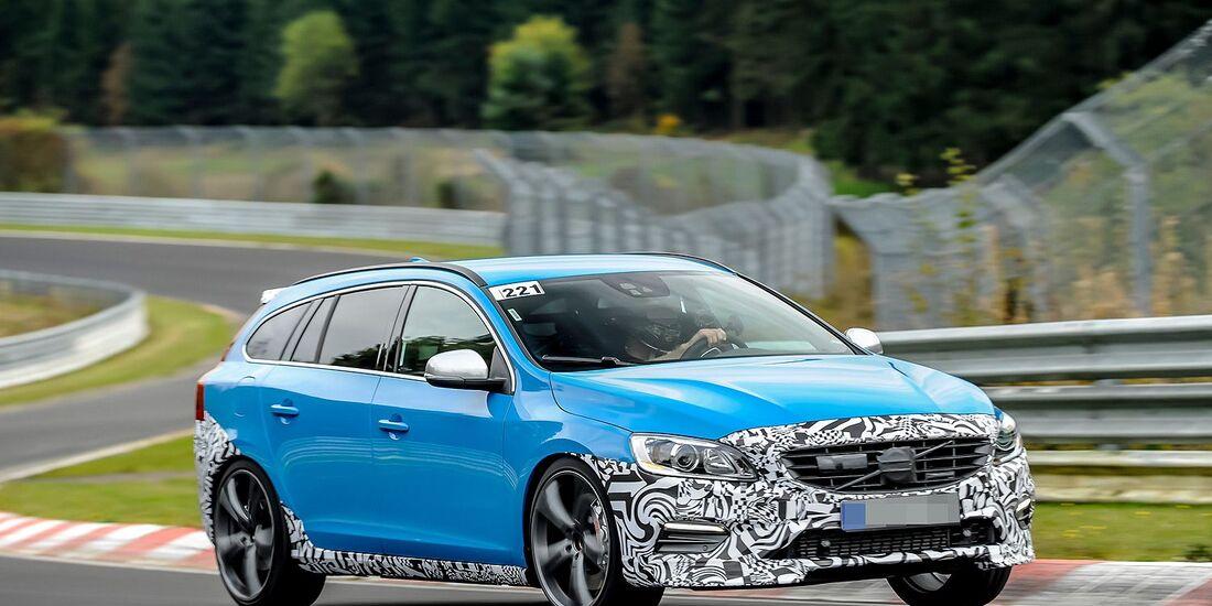 Erlkönig Volvo V60 Polestar
