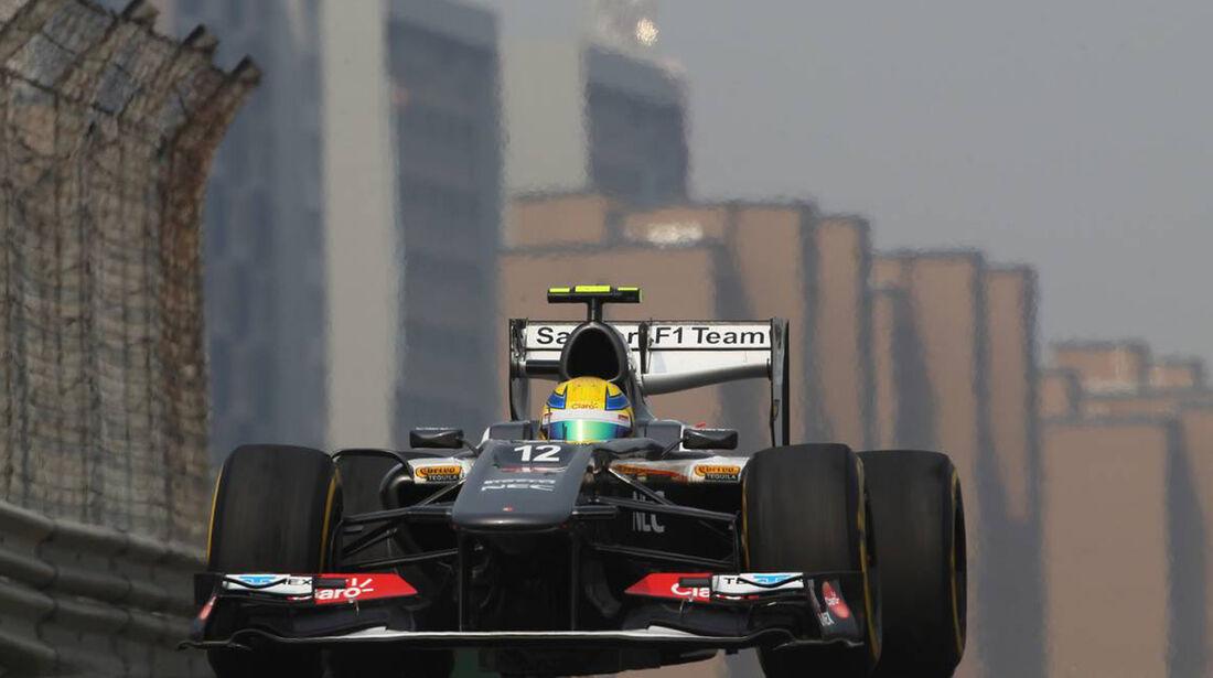 Esteban Gutierrez - Formel 1 - GP China -12. April 2013