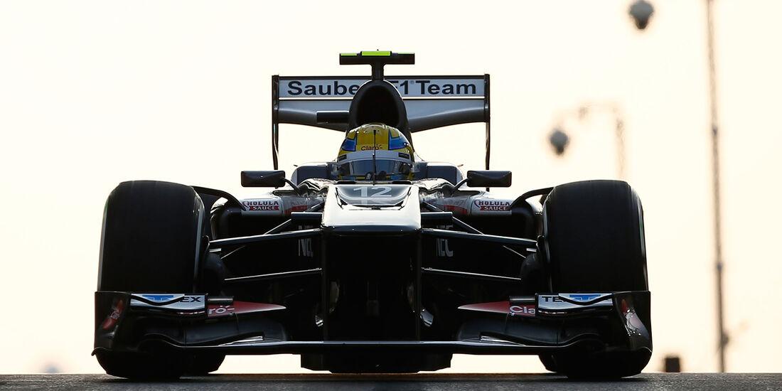 Esteban Gutierrez - GP Abu Dhabi 2013
