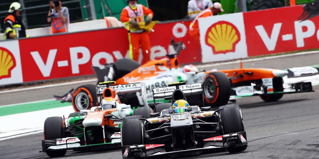 Esteban Gutierrez - GP Belgien 2013