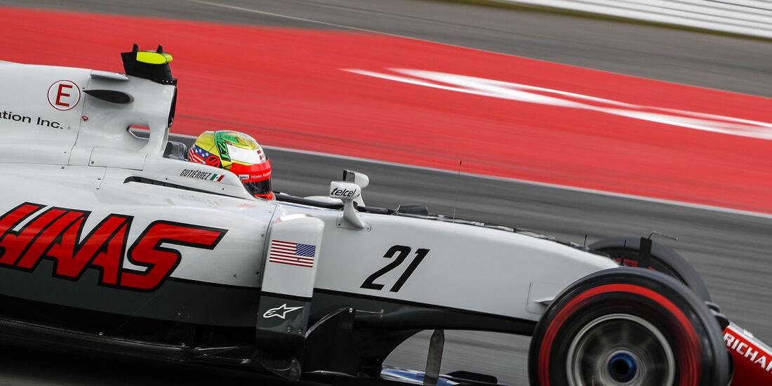 Esteban Gutierrez - Haas F1  - Formel 1 - GP Deutschland - 30. Juli 2016