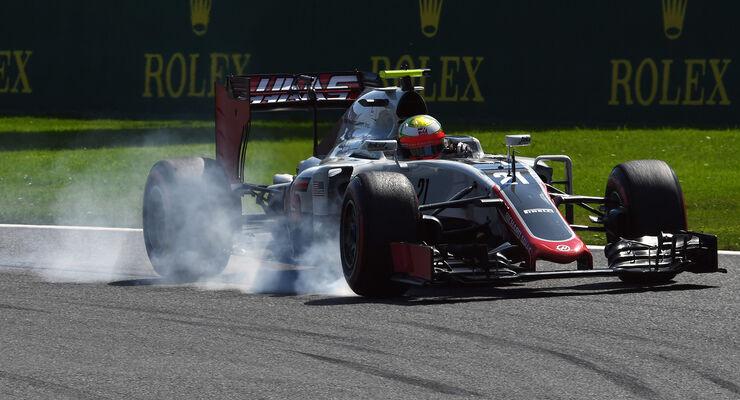 Esteban Gutierrez - HaasF1 - Formel 1 - GP Belgien - Spa-Francorchamps - 27. August 2016