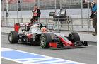 Esteban Gutierrez - HaasF1 - Formel 1-Test - Barcelona - 23. Februar 2016