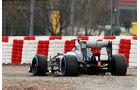 Esteban Gutierrez Sauber F1 Test Barcelona 2013