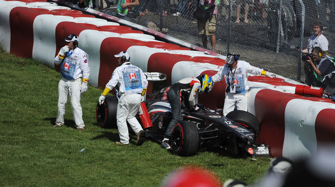 Esteban Gutierrez - Sauber - GP Kanada 2013