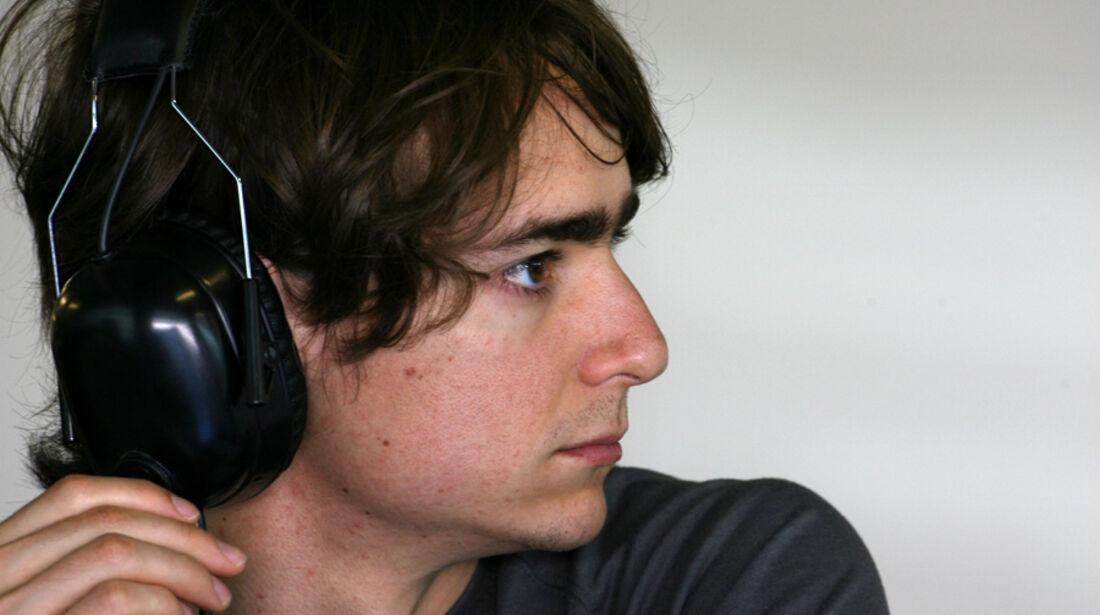 Esteban Gutierrez Young Driver Test Abu Dhabi 2011