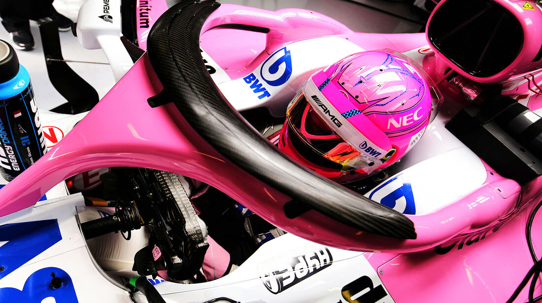 Esteban Ocon - Force India - Ferrari - F1-Test - Barcelona - Tag 2 - 27. Februar 2018