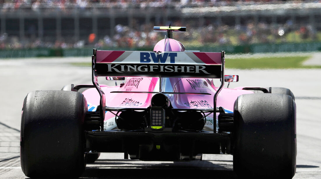 Esteban Ocon - Force India - Formel 1 - GP Kanada - Montreal - 9. Juni 2018