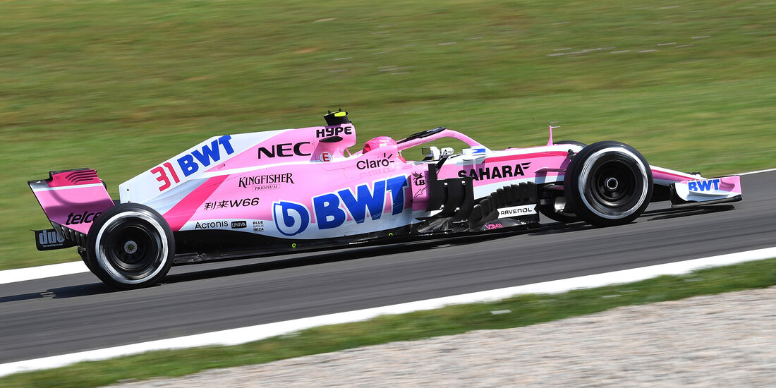Esteban Ocon - Force India - Formel 1 - GP Spanien - Barcelona - 11. Mai 2018