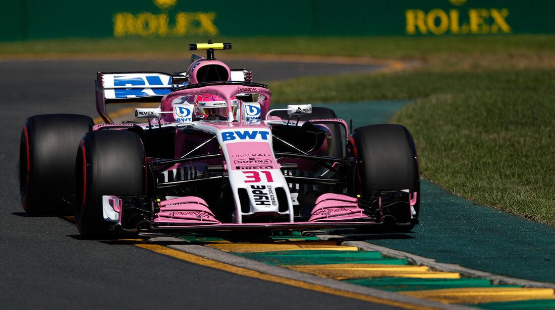 Esteban Ocon - Force India - GP Australien 2018 - Melbourne - Albert Park - Freitag - 23.3.2018
