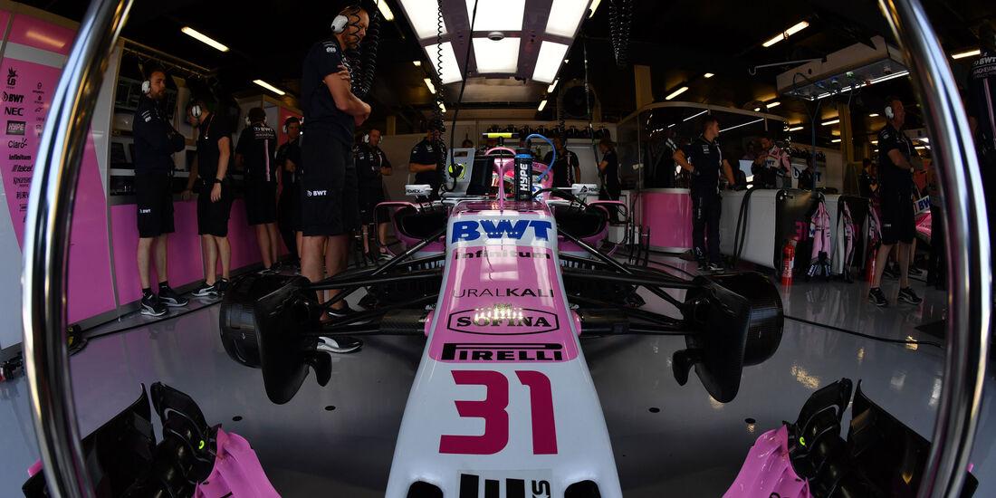 Esteban Ocon - Force India - GP England - Silverstone - Formel 1 - Samstag - 7.7.2018
