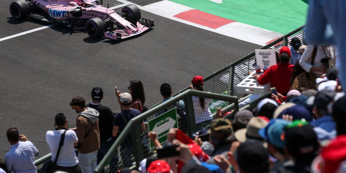 Esteban Ocon - Force India - GP Mexiko 2017 - Qualifying