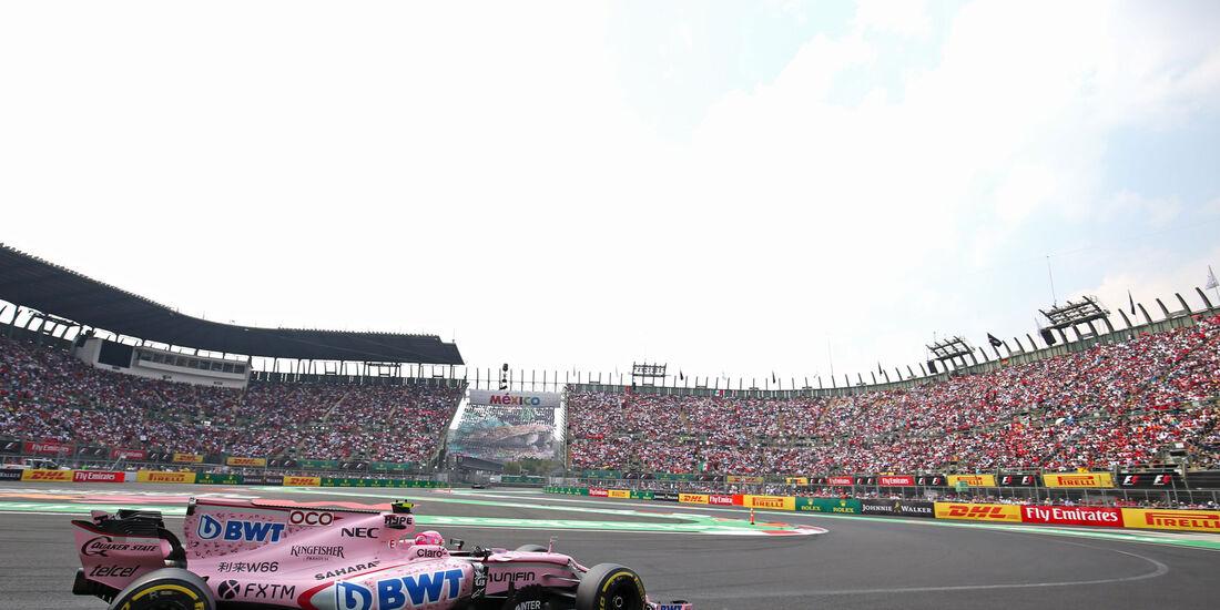 Esteban Ocon - Force India - GP Mexiko 2017 - Rennen