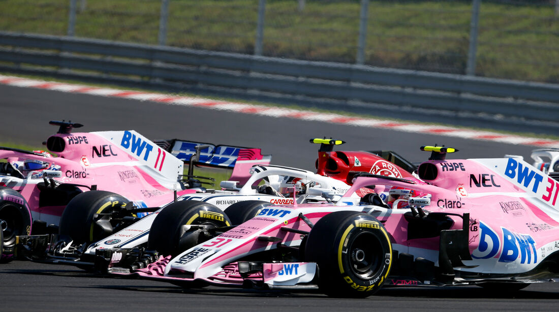 Esteban Ocon - Force India - GP Ungarn 2018 - Budapest - Rennen