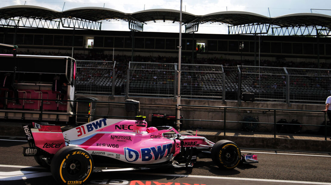 Esteban Ocon - Force India - GP Ungarn - Budapest - Formel 1 - Freitag - 27.7.2018