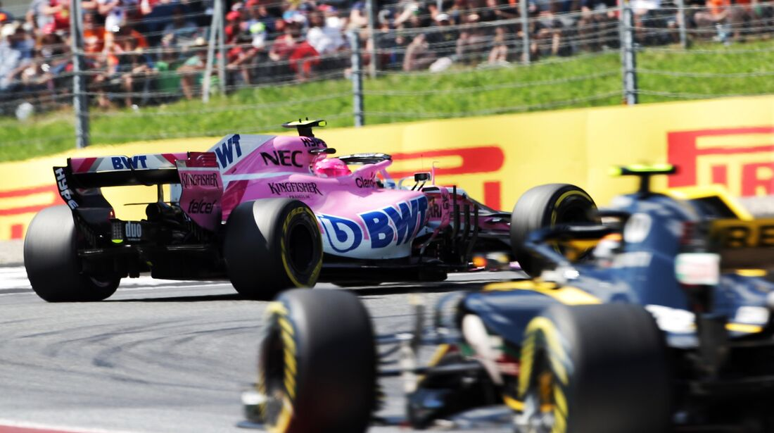 Esteban Ocon - Force india - Formel 1 - GP Österreich - 1. Juli 2018